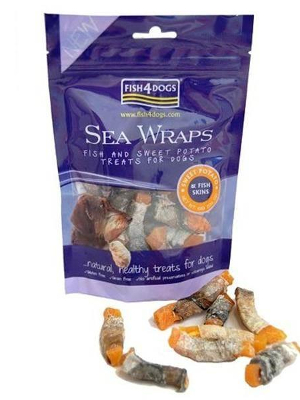 Fish4Dogs Sea Wraps 100g