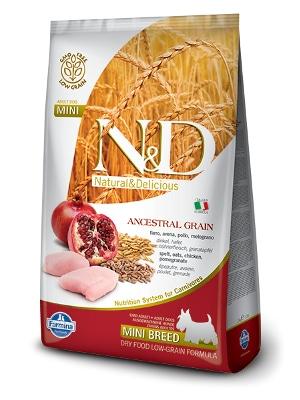 N&D LG Adult Mini piščanec
