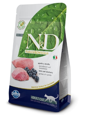 Natural & Delicious Cat Grain-free Adult jagnjetina