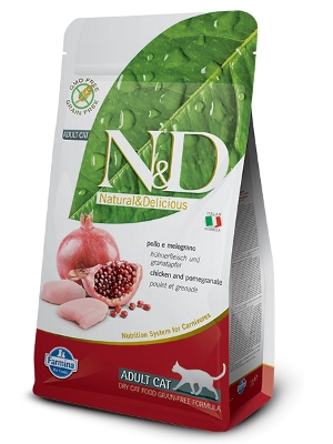 Natural & Delicious Cat Grain-free Adult piščanec