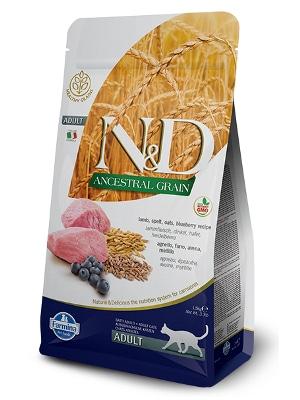 Natural & Delicious Cat Low Grain Adult jagnjetina