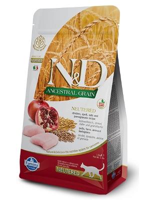 Natural & Delicious Cat Low Grain Adult Neutered