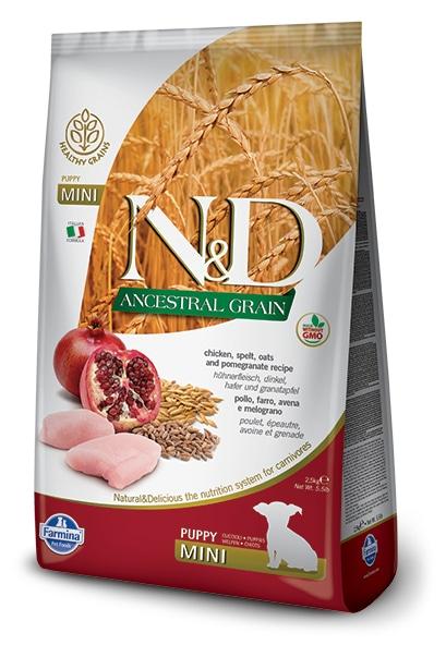 Natural & Delicious Dog Low Grain Puppy Mini piščanec