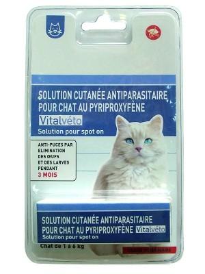 Vitalveto ampula proti bolham za mačke