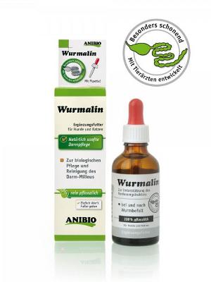 Anibio Wurmalin - čisti črevesje med in po okužbi 50ml