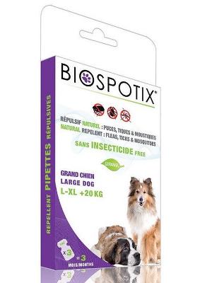 Ampule Biospotix naravne za velike pse