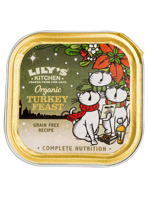 Lily's Kitchen Organic Turkey Feast 85g
