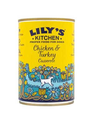 Lily's Kitchen - Domača mineštra s piščancem in puranom 400g
