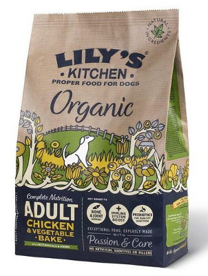 Lily's Kitchen Organic Chicken with Vegetable Bake