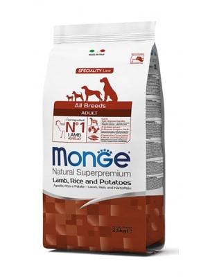 Monge Dog Adult Lamb & Rice