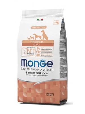 Monge Dog Adult Salmon & Rice
