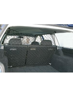 Mreža za psa v avtu - zaščitna iz najlona