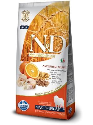 Natural & Delicious Dog Low Grain Adult Maxi polenovka 12kg