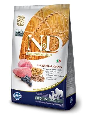 Natural & Delicious Dog Low Grain Adult Medium jagnjetina