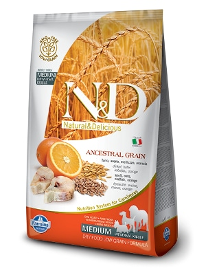 Natural & Delicious Dog Low Grain Adult Medium polenovka