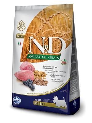 Natural & Delicious Dog Low Grain Adult Mini jagnjetina