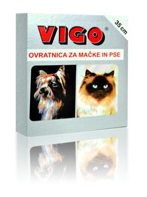 Vigo ovratnica za mačke in majhne pse 35cm