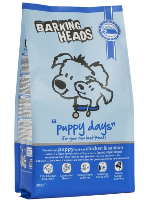 "Barking Heads ""puppy days"""