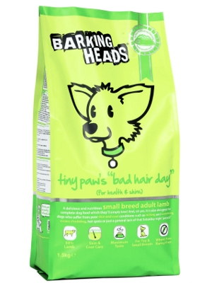 "Barking Heads tiny paw's ""bad hair day"""