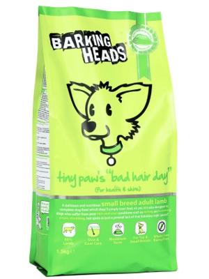"Barking Heads tiny paw's ""bad hair day"""