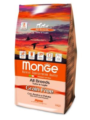 Monge Dog Grain free 12kg raca