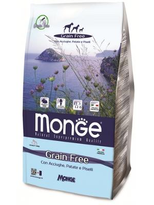 Monge Dog Grain free 12kg inčun