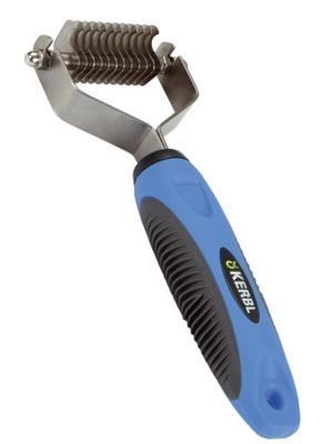 Glavnik za razvozlavanje in odstranjevanje dlake 12 rezil