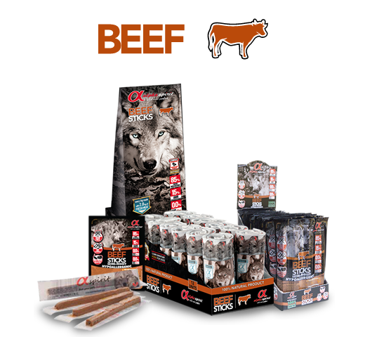 Alpha Spirit Ristra Beef Sticks
