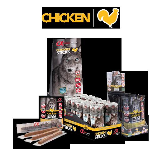 Alpha Spirit Ristra Chicken Sticks