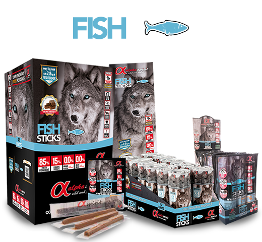 Alpha Spirit Ristra Fish Sticks