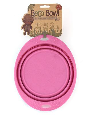 Prenosna posoda Travel Beco L roza