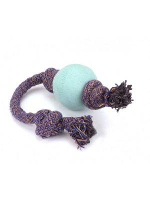 Beco Rope žoga na vrvici modra S