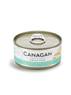 Canagan Cat - piščanec s sardinami