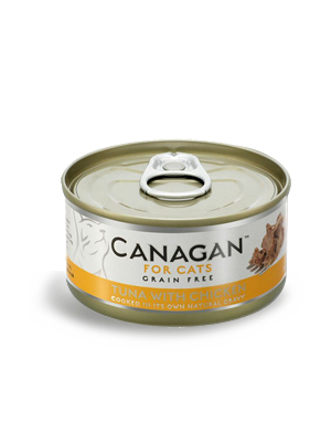 Canagan Cat - tuna s piščancem