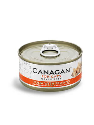 Canagan Cat - tuna s kozicami