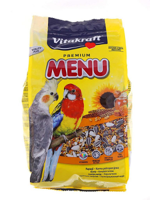 Vitakraft Menu Premium za srednje papige