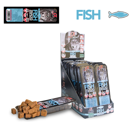 Alpha Spirit Fish Snack