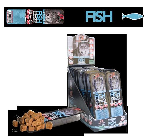 Alpha Spirit Fish Snack
