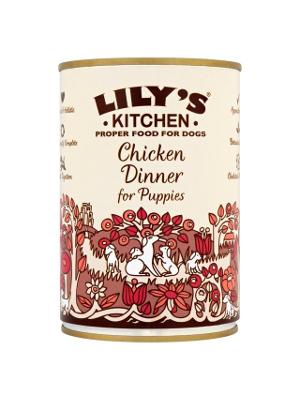Lily's Kitchen - Piščančje kosilo za pasje mladičke 400g
