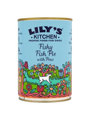 Lily's Kitchen - Ribja pita z grahom 400g
