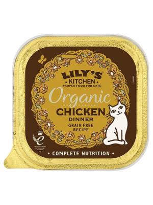 Lily's Kitchen Organic Chicken Dinner 85g