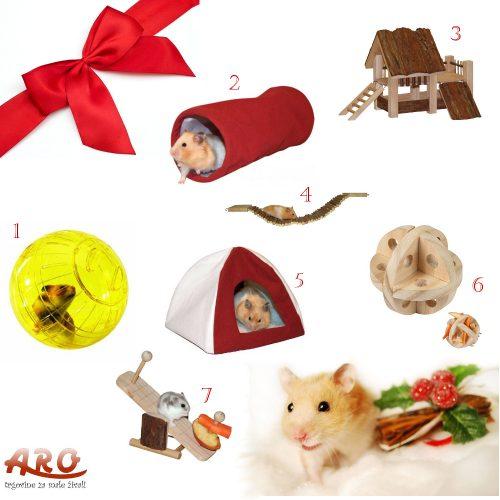 Novoletno darilo za vašega hrčka