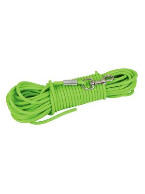 Sledni povodec za pse zelen