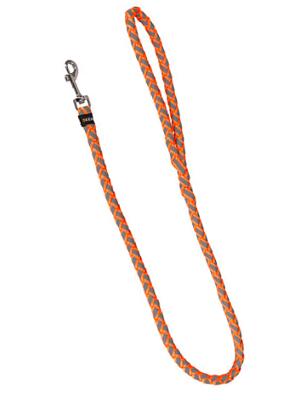 Odsevni povodec za pse 100cm oranžen