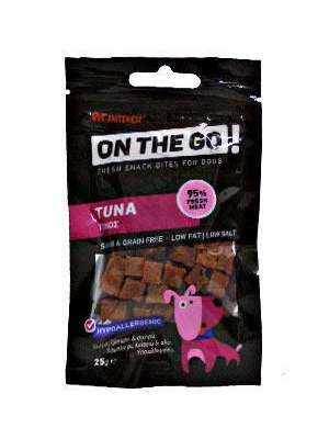 Pet Interest On The Go tuna 25g pasji priboljšek