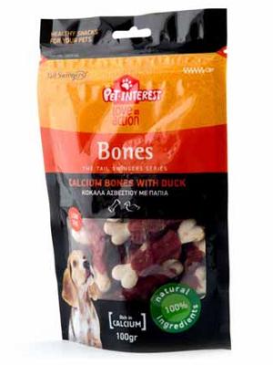 Tailswingers Bones kalcijeve kosti z raco 100g