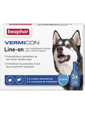 Ampule Beaphar Vermicon za srednje pse