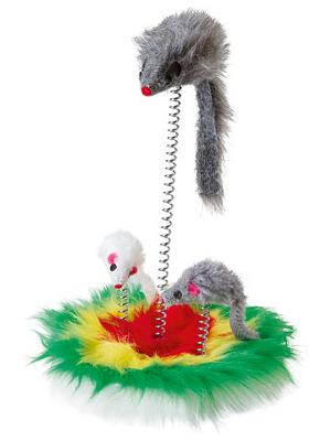 Motivacijska mačja igrača - miške na vzmeti