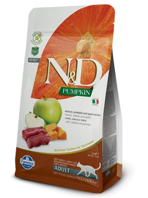 Natural & Delicious Cat Pumpkin Adult Jelen