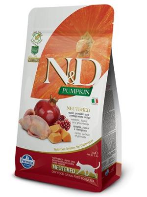 Natural & Delicious Cat Pumpkin Adult Neutered